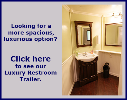Click for information about our Luxury Restroom Trailer
